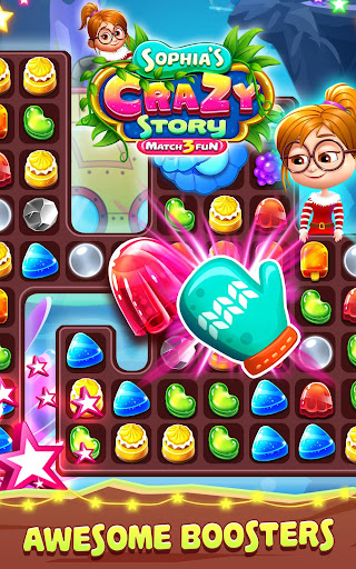 Crazy Story - Match 3 Games android2mod screenshots 3