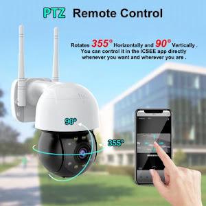 Camera de supraveghere IP 1080P HD PTZ Wifi Waterproof