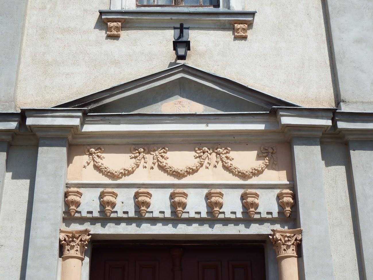 Nagygyimót - Szent Móric rk. templom és keresztút a templom körül