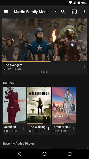 Plex for Android- screenshot thumbnail