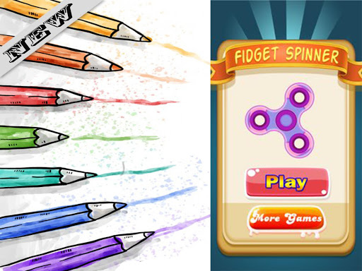 Fidget Spinner Coloring Book Games Apk Free Download For Android PC Windows