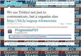 Photo: http://twitter.com/ProgressivePST/status/12958398936