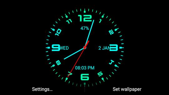 Analog Clock Live Wallpaper 111.4.17 Android Mod APK 2