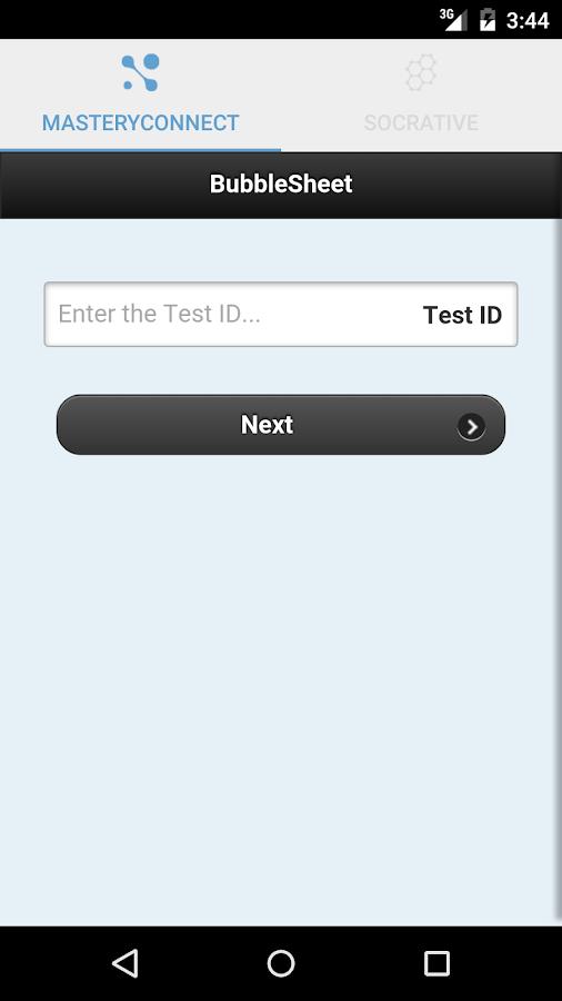 MasteryConnect Student- screenshot