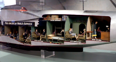 Photo: Pan Am Clipper for transoceanic passengers, ca. 1935. http://www.flyingclippers.com/main.html
