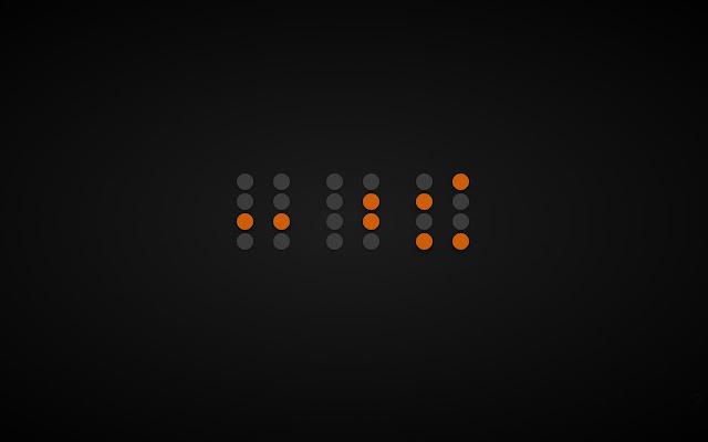Binary Clock Tab