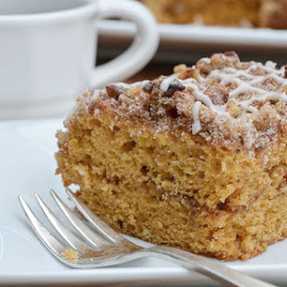 Spiced Pumpkin Coffee Cake