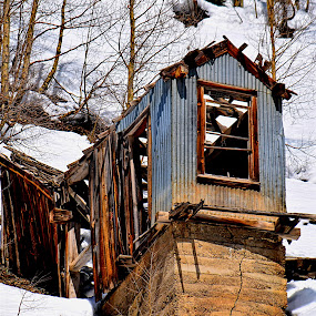 Mining Shack* by Rob Bradshaw - Buildings & Architecture Decaying & Abandoned ( mining shack, decaying, buildings, silverton, abandoned, colorado, architecture )
