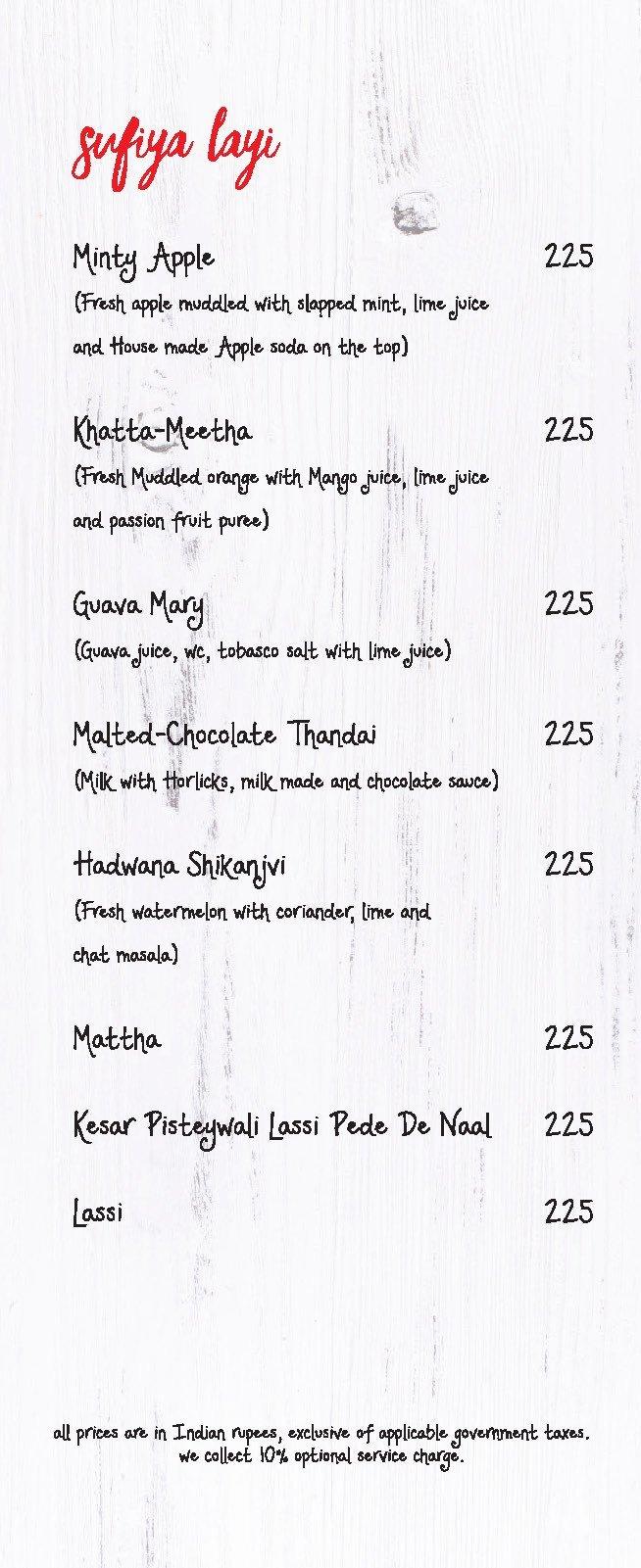 Made In  Punjab menu 32