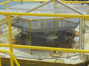 Photo: One of the 18 primary mirrors for JWST