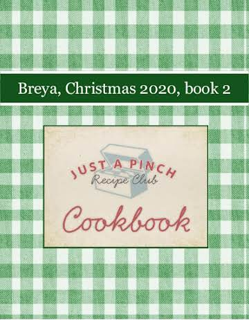 Breya, Christmas 2020, book 2
