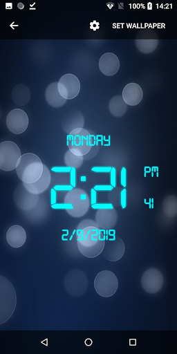 دانلود ساعت دیجیتال برای موبایل