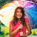 Magic Rain Effect Photo Editor With Water Drops icon