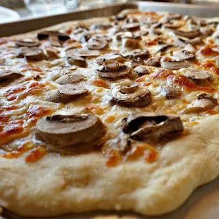 Truffle Oil Mushroom Pizza (Flatbread).