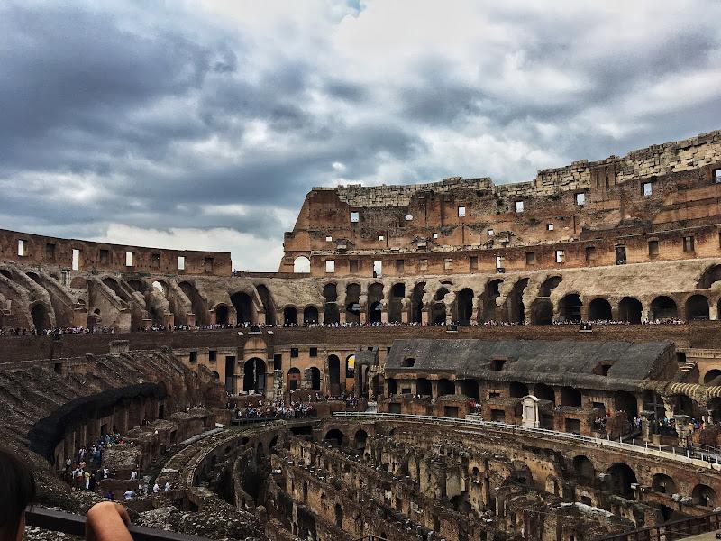 Il Colosseo dall'interno di SoraiaShine