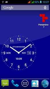 Analog Clock Live Wallpaper-7 - náhled