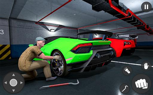 Tiny Thief and car robbery simulator 2019 apktram screenshots 5