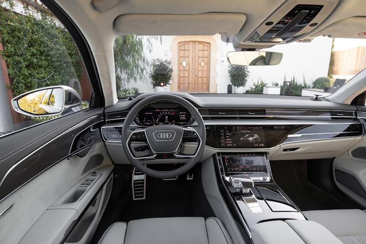 Luxurious interior is a tech-lover's fantasy.