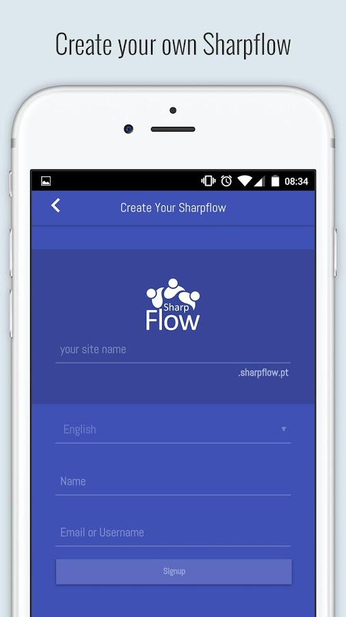 Sharpflow- screenshot