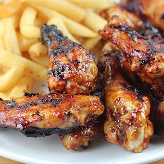 Honey BBQ Chicken Wings.