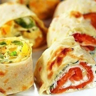 Rolls With Ham And Fish.