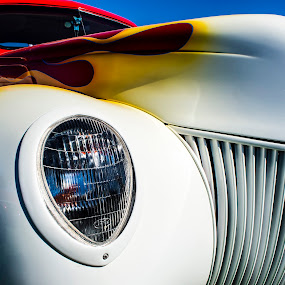 flame ride by Christian Wicklein - Transportation Automobiles ( car, flames, car show, classic )