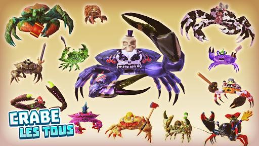 Code Triche King of Crabs APK MOD screenshots 2