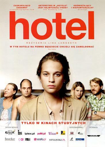 Przód ulotki filmu 'Hotel'
