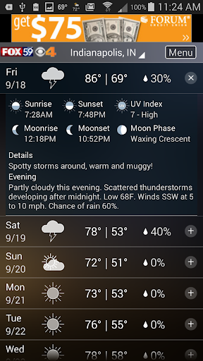 The Indy Weather Authority 5.0.1100 Screenshots 2