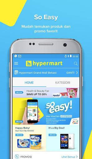 hypermart online screenshots 2