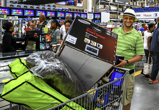 Lance Mostert beat the queues by going early to the Makro in Strubens Valley, Gauteng, on Black Friday last year.