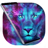Dark Cyan Legend Lion Theme Android APK Download Free By Abby Theme Center