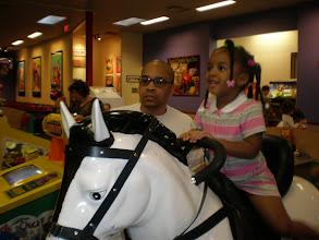 Photo: giddy up horsie!