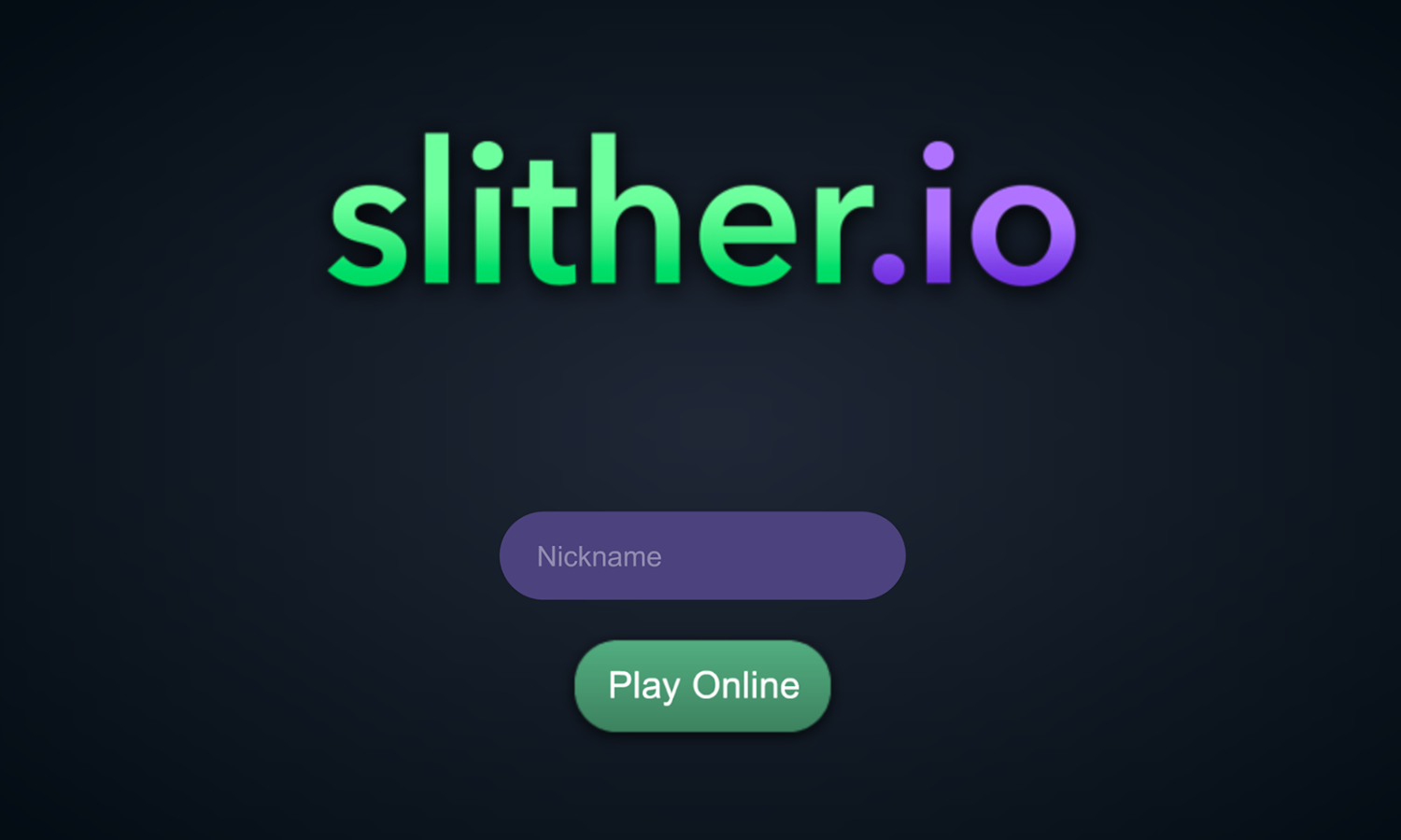 Slither Io Online