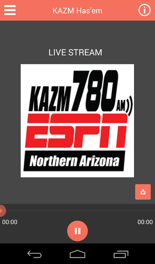ESPN 780 KAZM- screenshot