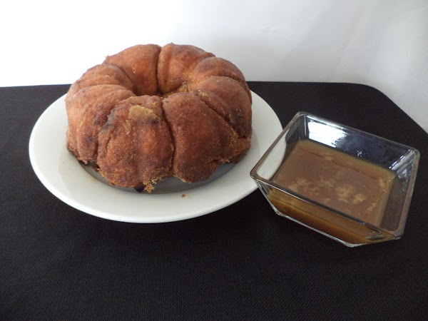 Once the Pumpkin Gorilla Bread is baked, wait 5 minutes and invert onto a...