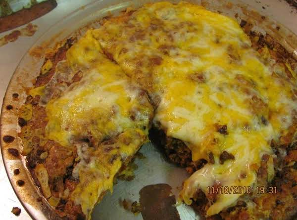Impossible Easy Taco Pie
