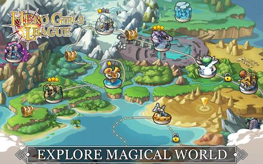 Hero Girls League - Fantasy RPG 1.0.2 Mod screenshots 5