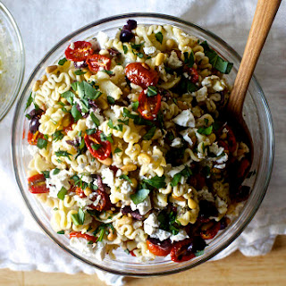Pasta Salad with Roasted Tomatoes.