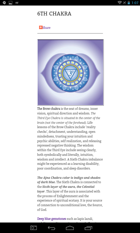 Brow Chakra Video Meditation- screenshot