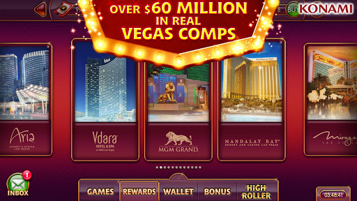 my KONAMI Slots - Free Vegas Casino Slot Machines screenshot 5