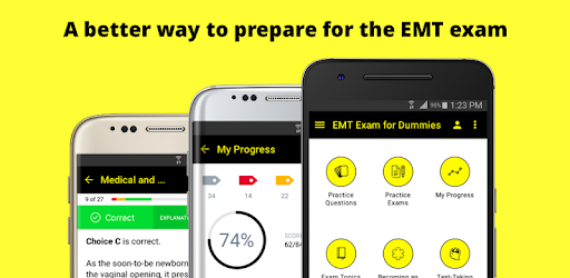 ★★★★★ EMT Exam for Dummies will ensure that you do your best on test day!