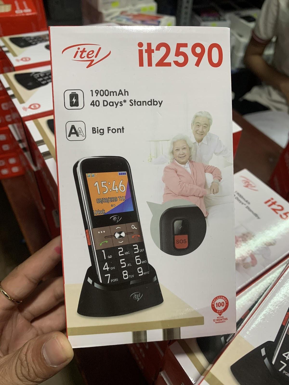 điện thoại itel it2590, điện thoại itel it2590 giá sỉ, điện thoại itel  it2590 giá rẻ, chuyên phân phối điện thoại itel it2590