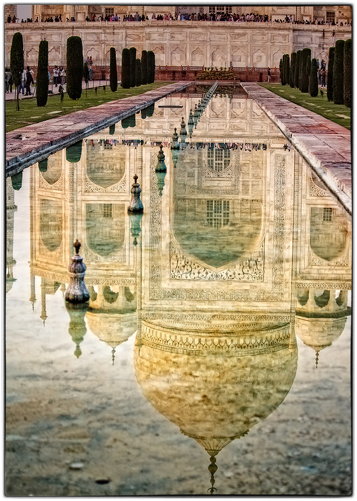 Taj Mahal Reflection di FrancescoPaolo