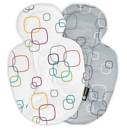 4Moms Spädbarnsinlägg, White/Grey