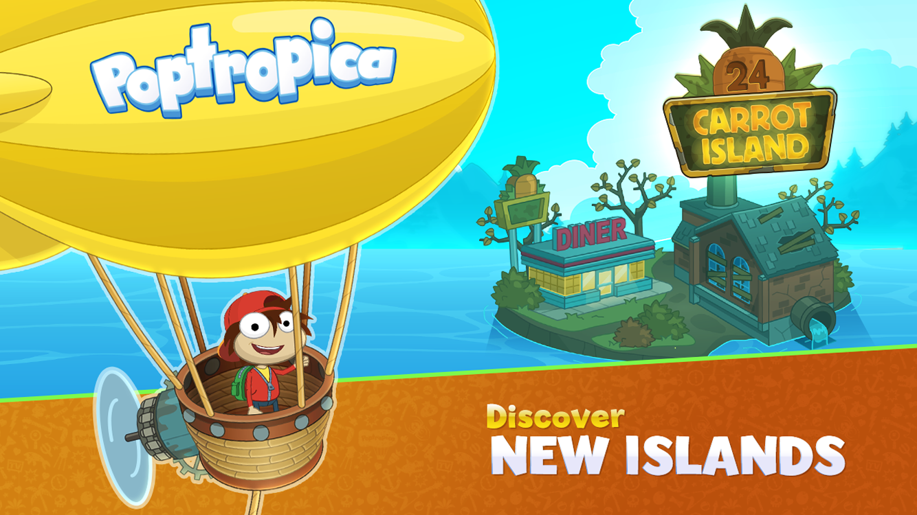 Poptropica Worlds- screenshot