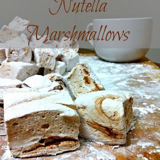 Nutella Marshmallows.