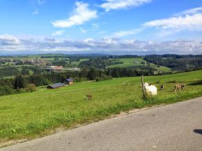 Photo: ... durch das Allgäu Richtung Pfronten.