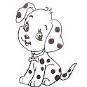 تعلم كيف ترسم كلب icon