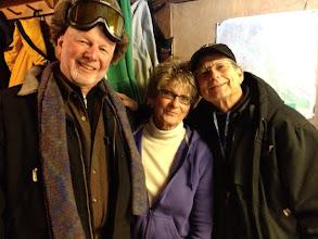 Photo: Iditarod Friends at Rainy Pass